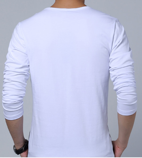 bed297d2d 2014 new design cotton slim fit big tall men cotton long sleeve korea  wholesale fashion t