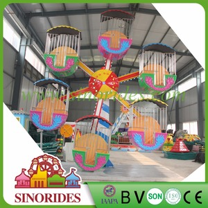 small diy ferris wheel in exhibition fiberglass 25 feet ferris wheel