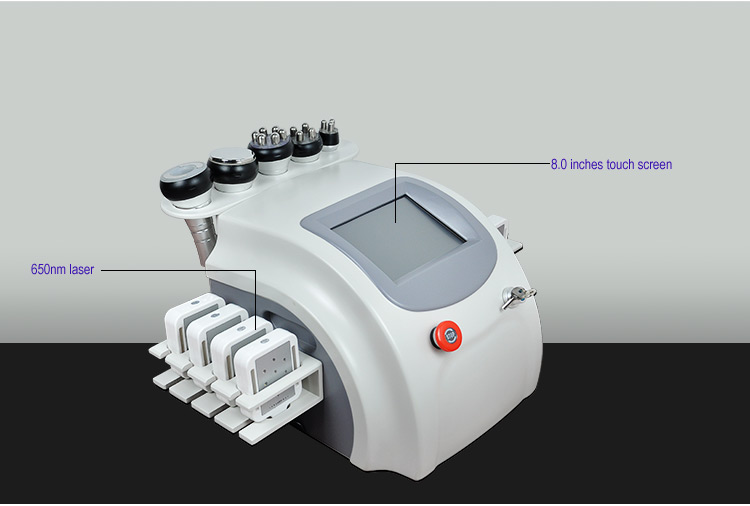 Китай поставщик жира кавитации вакуум РФ для похудения машина для продажи