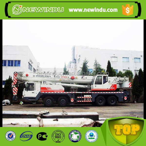 Zoomlion 80 Ton Hydraulic Truck Crane QY80 With Best Price