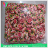 Pink color cloth materials for flower making fake flowers cloth raw material for flowers