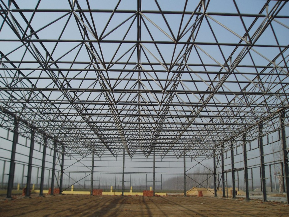 Long Span Construction Of Light Steel Structure Truss Roof