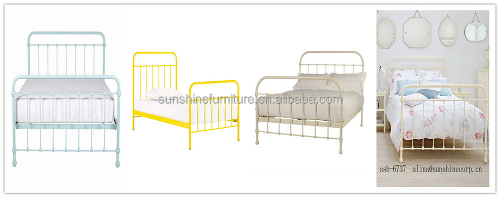 kids metal bed