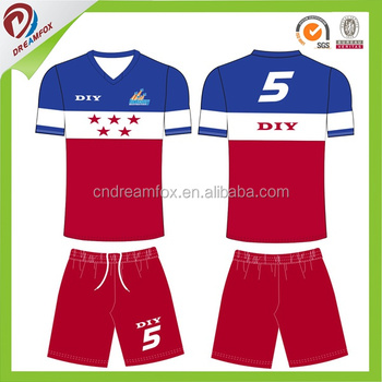 4dd4a632e 2017 Custom cheap thailand sublimation printing striped usa soccer jersey  national team soccer jersey wholesale
