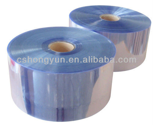 Clear Pvc Packing Material Sleeve Pvc Packaging Film In Roll