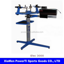 032 Advanced computer manual/electric tennis/badminton dual-use stringing machine with free tool set Elec 3000