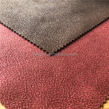 Waterproof Pu Synthetic Leather Microfiber Soft Stretch Super Suede Fabric For Sofa