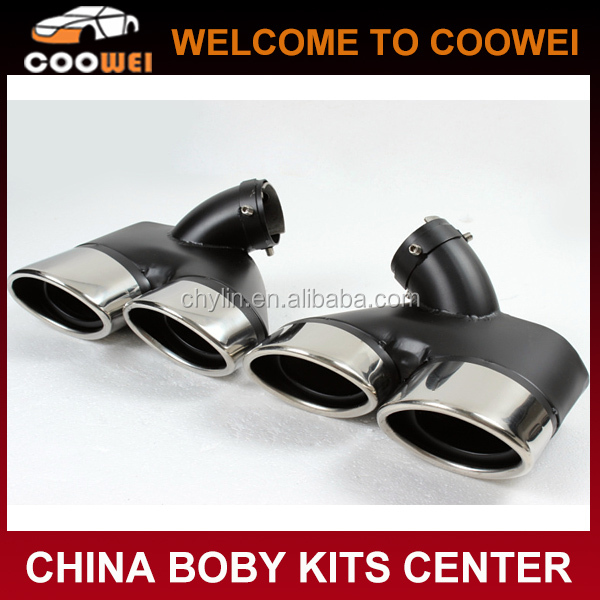E-Class W211 Stainless Steel Muffler Exhaust Tips For Mercedes W211