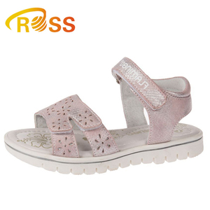 587c1354642b 2019 Flower Revit Design Flat Sole Sandals for Girls