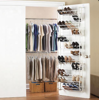 12 Tier shoe rack hanging shoes organizers hanging over the door shoe rack