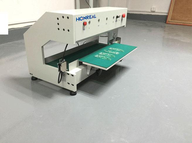 Shenzhen smt machine v cut grooving led manual homemade v cut cutting saw blade cutter machine