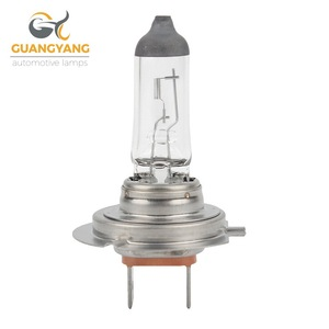 Factory h7 12v 55w white car lamp headlight halogen bulb