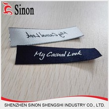 fake designer brand name woven china clothing labels