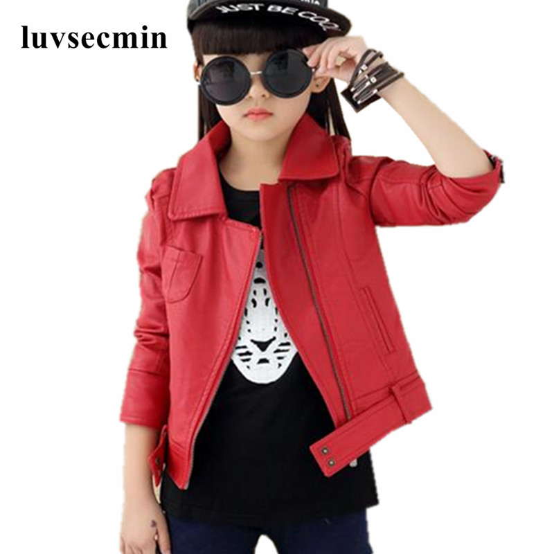 Red Leather Jacket Kids Promotion Shop For Promotional Red