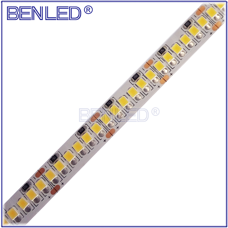 BenLed High CRI >90 10000k 5000k Cuttable 12V 24V Natural White SMD 2835 Flexible LED Strip