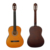 China Custom Made Aiersi brand Colour basswood classic guitar cheap price nylon string classical guitars for kids and practice