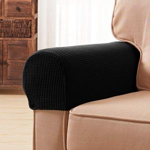 Hot selling sofa Armrest Cover Soft Spandex Stretch Arm Cover for Recliners Sofas