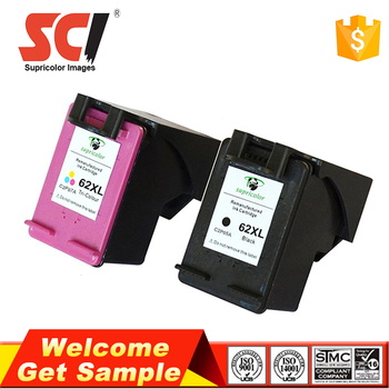 Supricolor Brand top quality ink cartridges compatible for hp 62xl