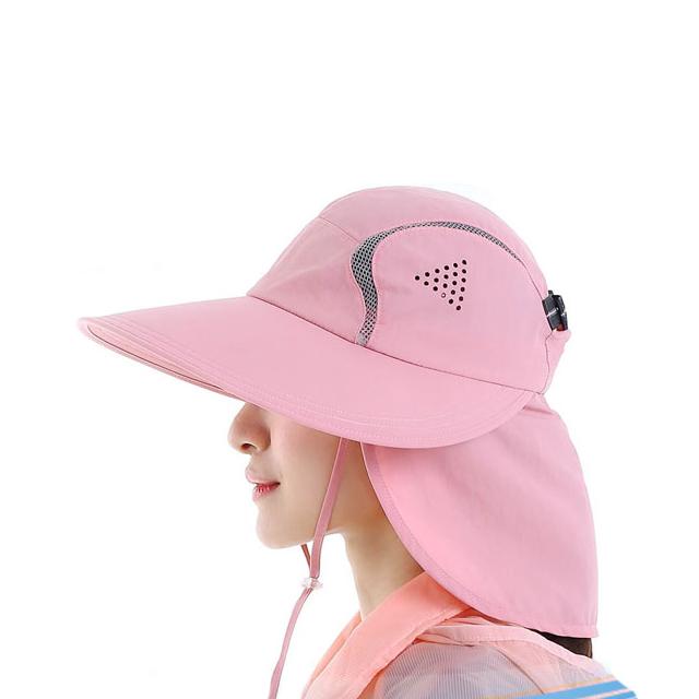 Outdoor Wide Brim UV Protection Fishing Cap Bucket Hat