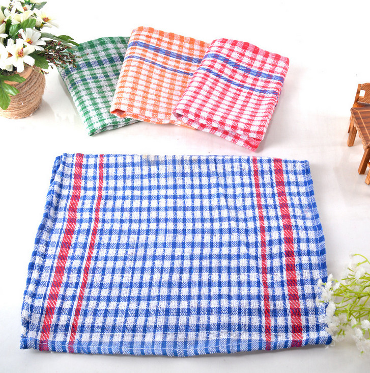 Tea towel cotton embroidery kitchen towel printed dish towel
