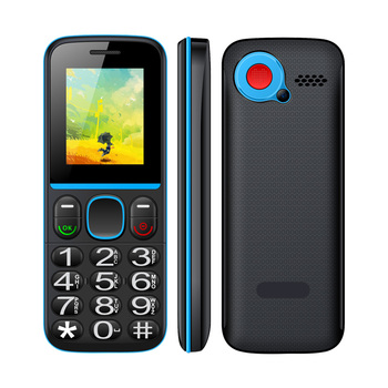1.8 inch basic low price bar phone feature phone SOS Cell Phone