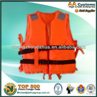 Orange water safety 86-5T cheap marine kids Life jacket