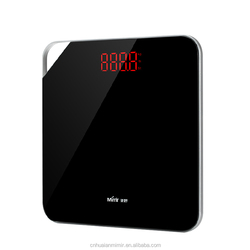 China Factory Low Price Portable Handle Digital Body Weight Bathroom Personal Scale with LED Display