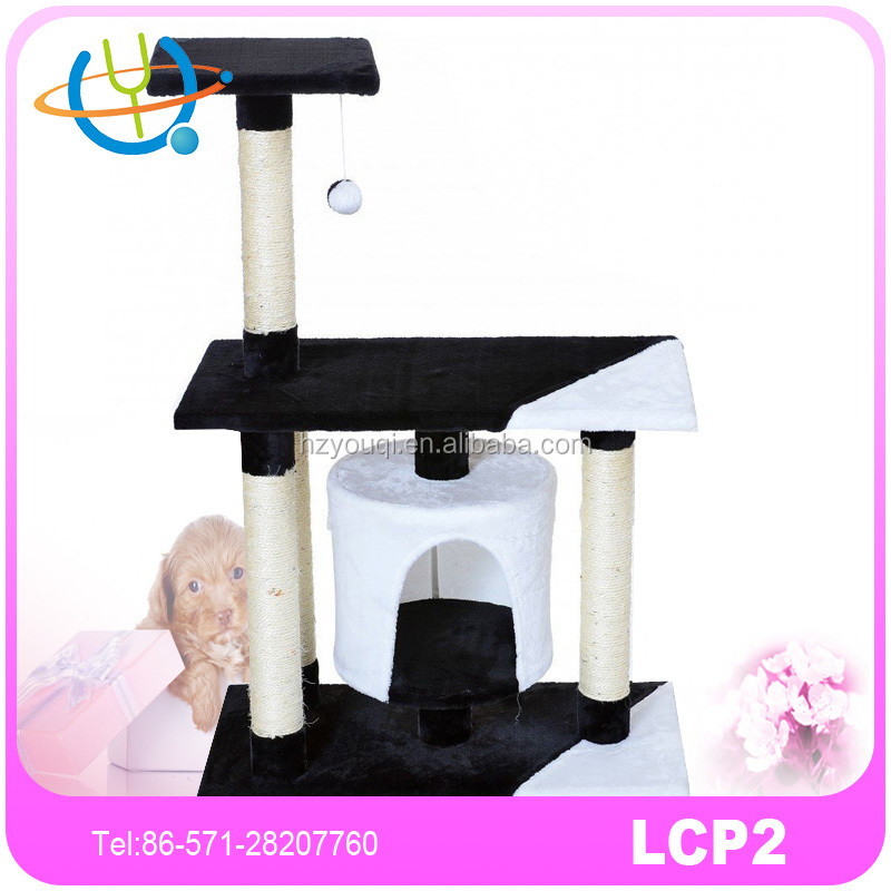 Cat Tree Scratching Post Activity Centre Banana Leaf Cat Tree Image
