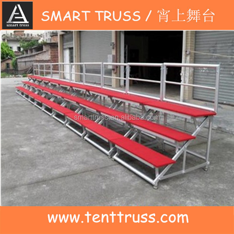 adjustable aluminum frame plywood cover Chorus stage
