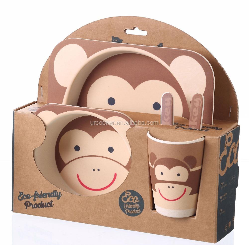 5 Piece Kids Dinnerware Bamboo Fibre Set Giraffe  sc 1 st  Alibaba & 5 Piece Kids Dinnerware Bamboo Fibre SetGiraffe - Buy Bamboo Fibre ...