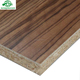 Different thickness chipboard panel melamine paper laminated particle board