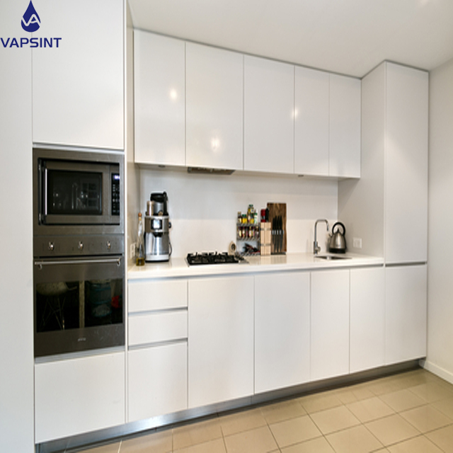 15 years experience White Lacquer Modern home kitchen <strong>cabinets</strong> designs
