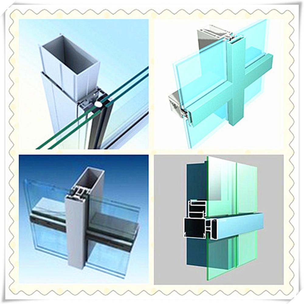 Aluminum Glass Wall : Exterior building glass walls aluminum structural