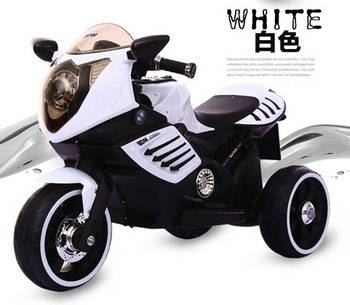 6v4 5ah Battery Electric 3 Wheel Toy Pocket Bike For 3 7 Years Old