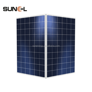 4pcs of poly 250wp total 1000 watt solar panel