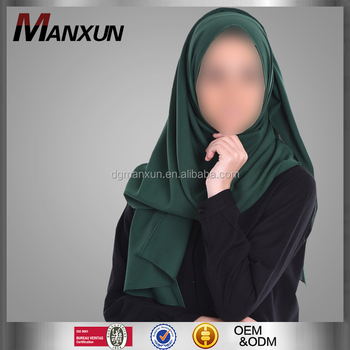 Simple Design Muslim Hijab Stylish Chiffon Scarf Hotsale Malaysia Women Hijab Wholesale Online