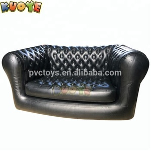 High quality luxury inflatable chesterfield sofa, black or white inflatable furniture