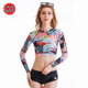 Sports Wear Women Sex Swimming Suit