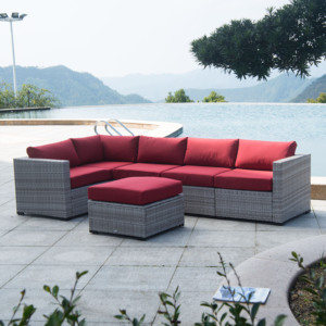 All Weather Luxury Wicker Rattan Hd Designs Garden Outdoor Furniture Poly Sofa Set