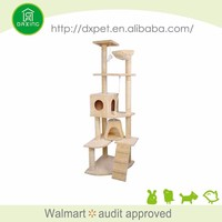 DXCT012 Nature sisal luxury best quality cat tree furniture