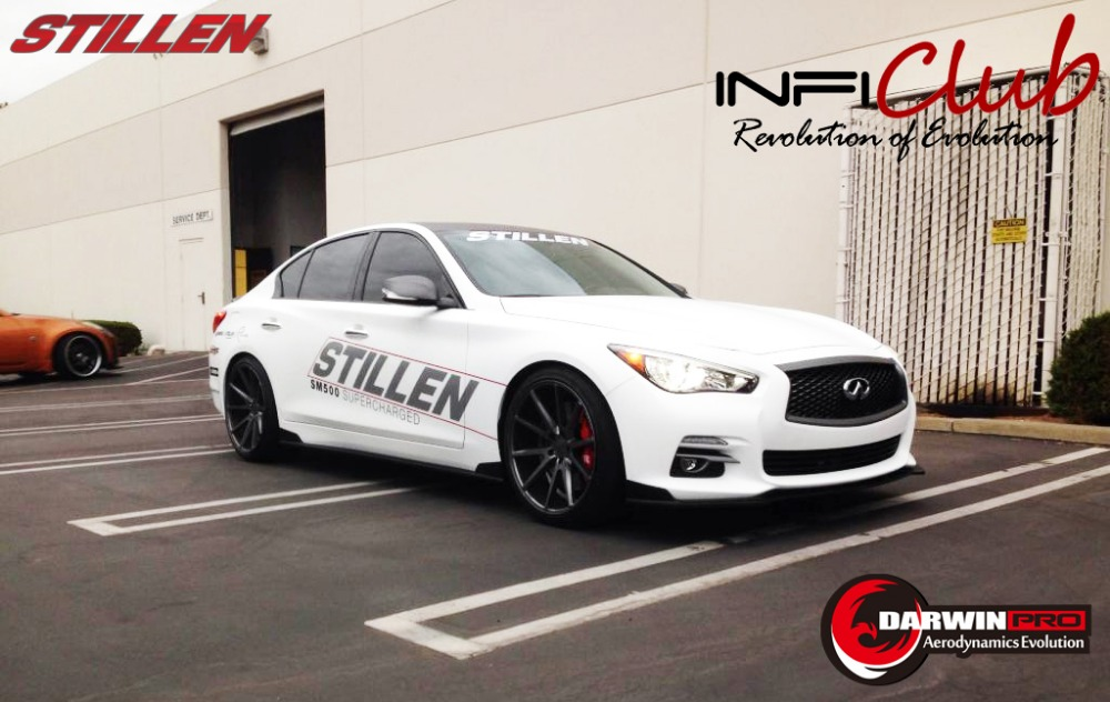 14 16 infiniti q50 q50 s body kit bumper front lip side skirts rear diffuser buy body kit for. Black Bedroom Furniture Sets. Home Design Ideas