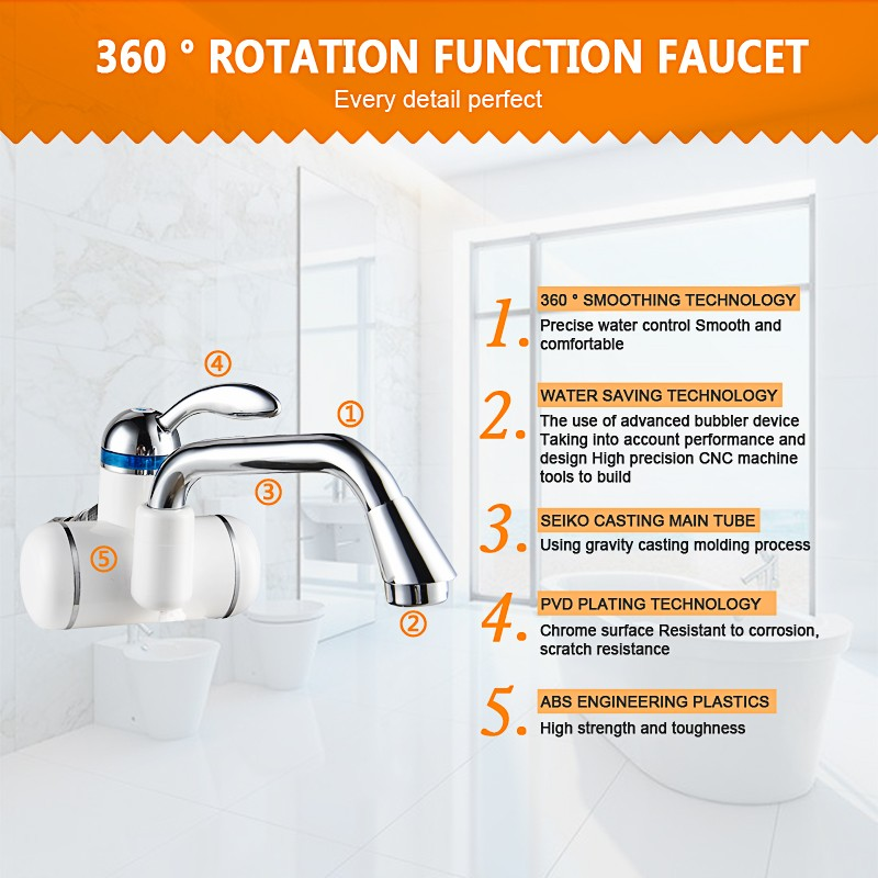 New Style Instant Heating Huayi Faucet - Buy Huayi Faucet Product on ...