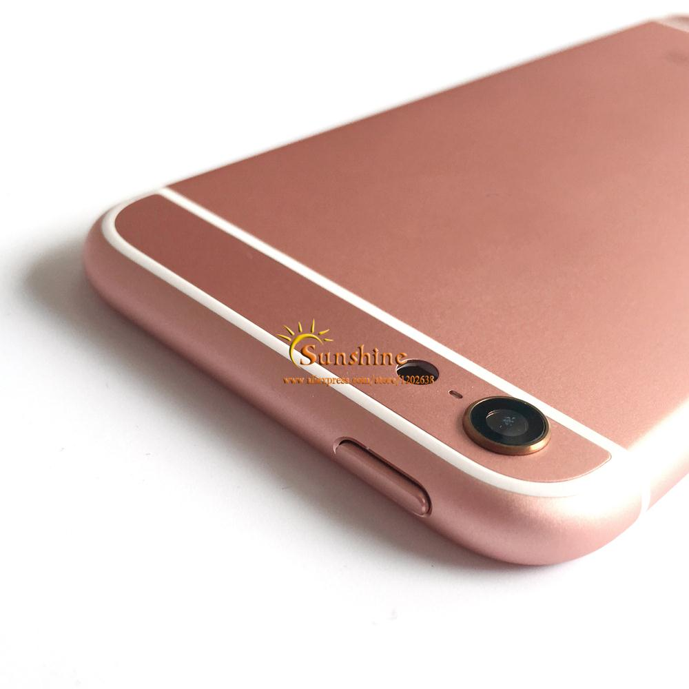 Iphone S Battery Case Rose Gold