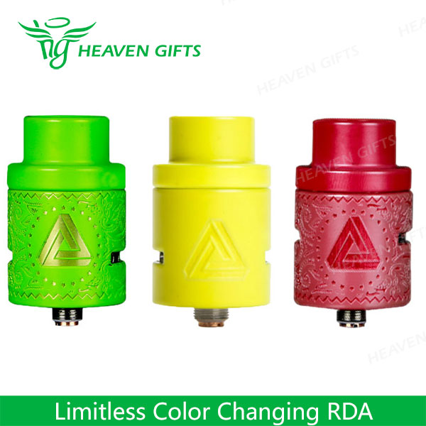 IJOY custom vape tanks Limitless Color Changing RDA dropshipping in usa e cig wholesale China