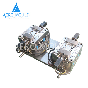 Durable green PPR plastic pipe injection mould
