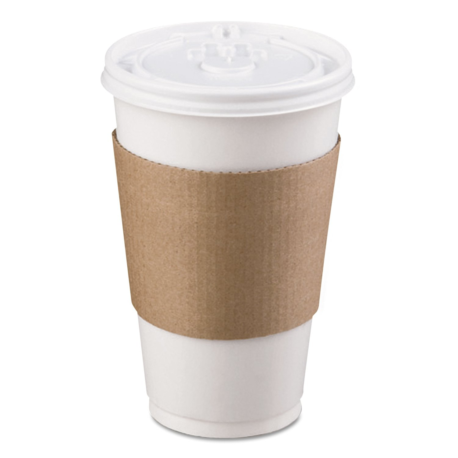 LBP 6106 Coffee Clutch Hot Cup Sleeve, Brown (Case of 1200)