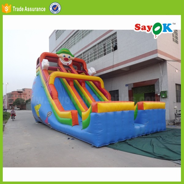 long water slide used foldable jumbo water slide inflatable for sale