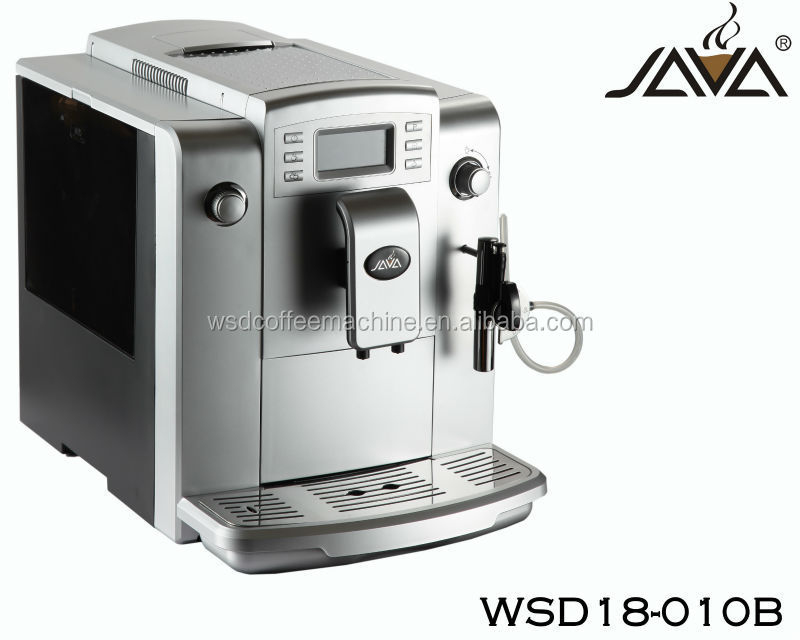 Large capacity bean to cup super automatic espresso coffee machine 220V