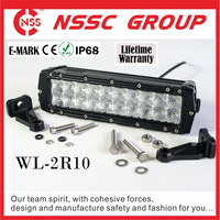 Headlight Type and 10- 300V DC Voltage led light bar off road with flood spot combo beam option