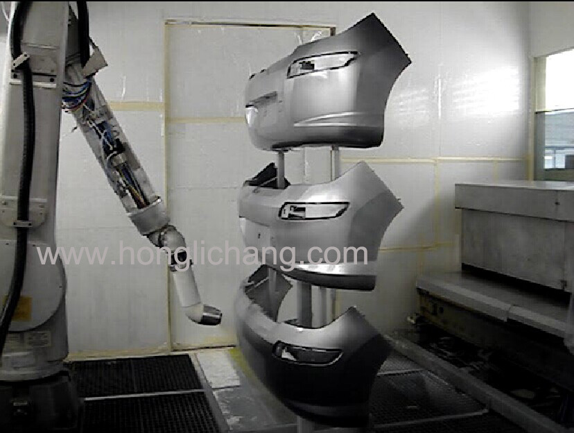 Robot Automatic Painting Line For Car Bumper